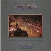 Deep Purple Made In Europe Greece vinyl LP