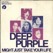Click here for more info about 'Deep Purple - Might Just Take Your Life - VG+'