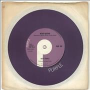 "Deep Purple Never Before + Company Sleeve UK 7"" vinyl"