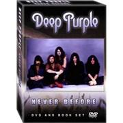 Deep Purple Never Before UK DVD