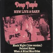 Click here for more info about 'Deep Purple - New Live & Rare EP - Purple - P/S - EX'