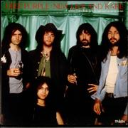 Deep Purple New Live And Rare Japan vinyl LP
