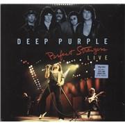 Deep Purple Perfect Strangers Live - 180gm - Sealed UK 2-LP vinyl set