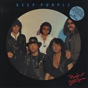 Deep Purple Perfect Strangers - Hype Stickered UK picture disc LP