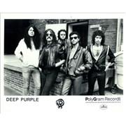 Deep Purple Perfect Strangers USA press pack Promo