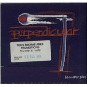 Deep Purple Perpendicular UK CD album Promo