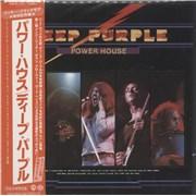 Deep Purple Power House Japan CD album