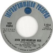"Deep Purple River Deep Mountain High USA 7"" vinyl"