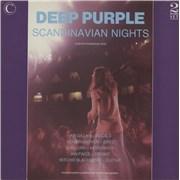 Deep Purple Scandinavian Nights UK 2-LP vinyl set
