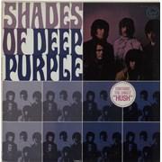 Deep Purple Shades Of Deep Purple - stickered p/s USA vinyl LP