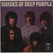 Deep Purple Shades Of Deep Purple India vinyl LP