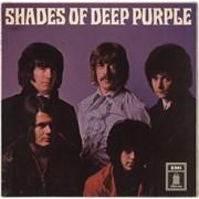 Deep Purple Shades Of Deep Purple Germany vinyl LP
