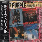 Deep Purple Singles A's & B's Japan CD album Promo