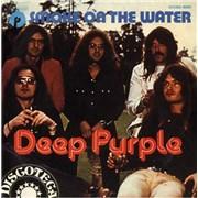 """Deep Purple Smoke On The Water Spain 7"""" vinyl"""