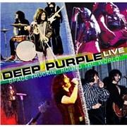 Deep Purple Space Truckin Round The World UK 2-CD album set