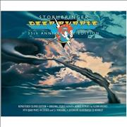 Deep Purple Stormbringer - 35th Anniversary Edition UK 2-disc CD/DVD set