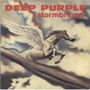 "Deep Purple Stormbringer Italy 7"" vinyl"