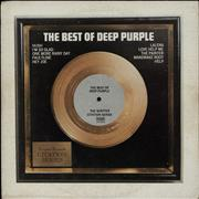 Deep Purple The Best Of Deep Purple USA vinyl LP