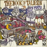 Deep Purple The Book Of Taliesyn - 2nd UK vinyl LP