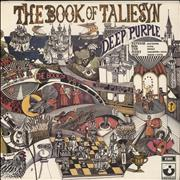 Deep Purple The Book Of Taliesyn - 5th UK vinyl LP