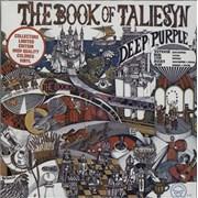 Deep Purple The Book Of Taliesyn - Purple Vinyl - Sealed USA vinyl LP