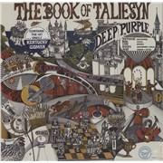 Deep Purple The Book Of Taliesyn - Sealed with Kentucky Woman sticker USA vinyl LP
