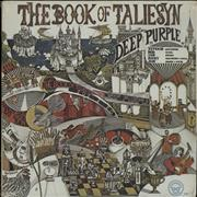 Deep Purple The Book Of Taliesyn - White Label Promo USA vinyl LP Promo