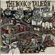 Deep Purple The Book Of Taliesyn Germany vinyl LP