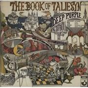 Deep Purple The Book Of Taliesyn South Africa vinyl LP