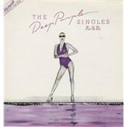 Deep Purple The Deep Purple Singles A's & B's UK vinyl LP