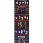 Deep Purple The Original Deep Purple Collection - 3 CDs UK 2-CD album set Promo