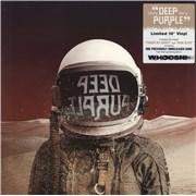 """Deep Purple Throw My Bones/Man Alive UK 10"""" vinyl"""