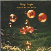Deep Purple Who Do We Think We Are - remastered UK CD album