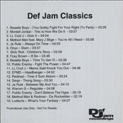Click here for more info about 'Def Jam - Def Jam Classics'