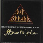 Click here for more info about 'Def Leppard - A Selection From The Forthcoming Album Hysteria'
