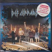 Def Leppard Action - Video Box Package UK CD single