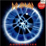 Def Leppard Adrenalize - EX UK vinyl LP