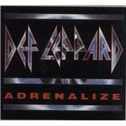 Def Leppard Adrenalize UK CD album