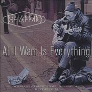 Click here for more info about 'Def Leppard - All I Want Is Everything + Postcards'