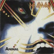 Click here for more info about 'Def Leppard - Animal'