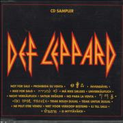 Click here for more info about 'Def Leppard - Cd Sampler'