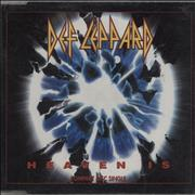Def Leppard Heaven Is UK CD single