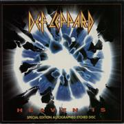 "Def Leppard Heaven Is UK 7"" vinyl"