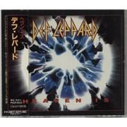 Def Leppard Heaven Is Japan CD single