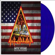 Click here for more info about 'Def Leppard - Hits Vegas Live At Planet Hollywood - Blue Vinyl'