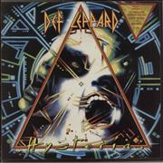 Click here for more info about 'Def Leppard - Hysteria - Triangular Stickered P/S + Insert'