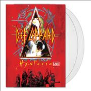 Click here for more info about ' - Hysteria Live - Crystal Clear Vinyl'