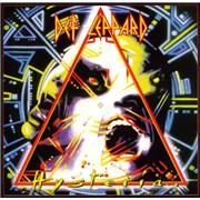 Def Leppard Hysteria UK vinyl LP
