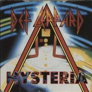 "Def Leppard Hysteria UK 7"" vinyl"