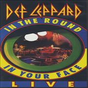 Click here for more info about 'Def Leppard - In The Round In Your Face'